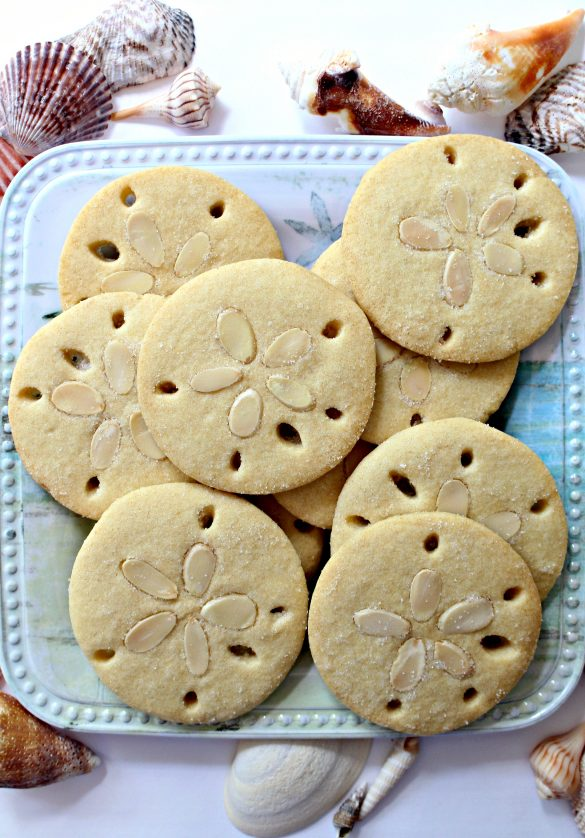 Almond Sand Dollar Cookies