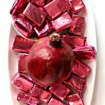 Pomegranate Caramels
