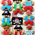 Gingerbread Pirate Cookies