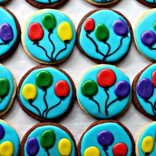 Balloon Sugar Cookies