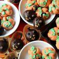 Peanut Butter Ball Pumpkins and Cats