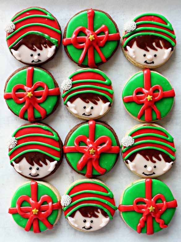 Elf on the Shelf Sugar Cookies