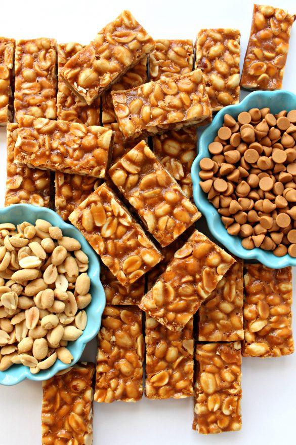 Butterscotch Peanut Bars