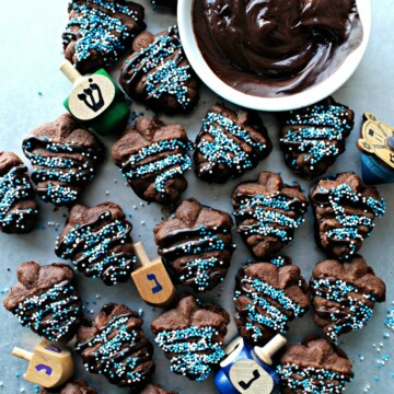 Chocolate Espresso Spritz Cookies