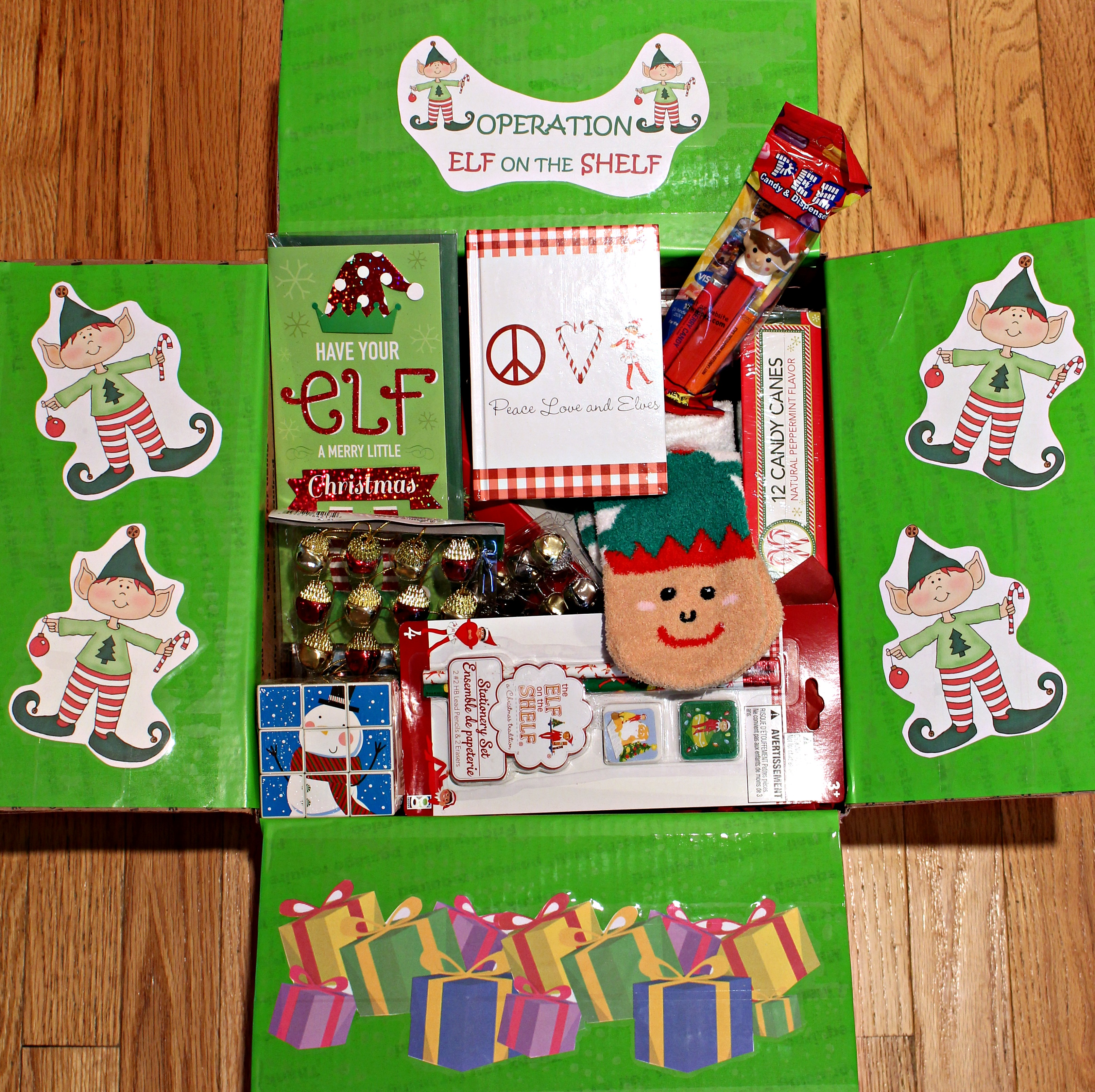 elf on the shelf sugar cookies the monday box. Black Bedroom Furniture Sets. Home Design Ideas