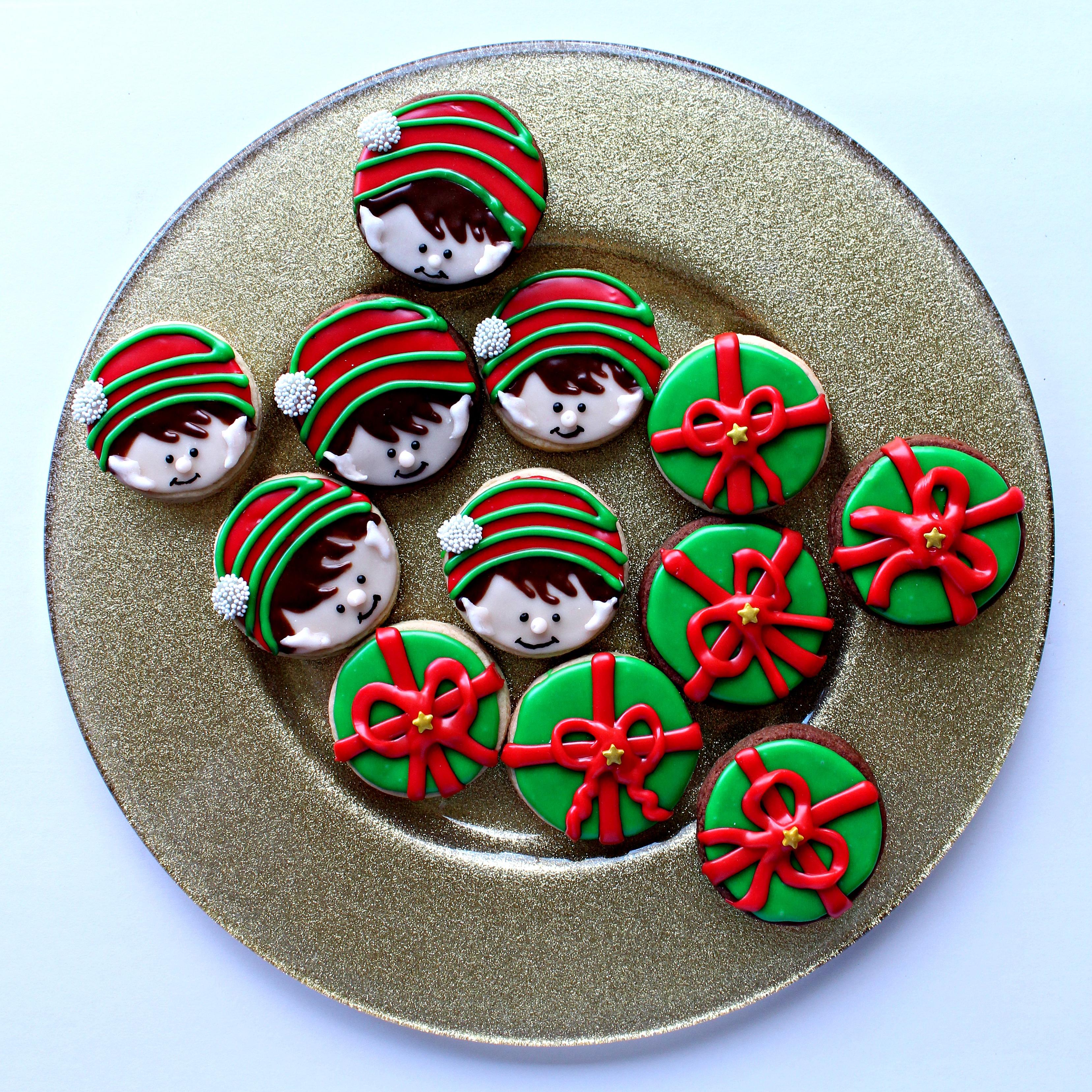 Elf On The Shelf Sugar Cookies The Monday Box