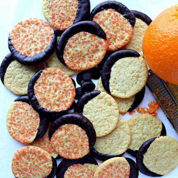 Chocolate Orange Cookies (Time Saver Recipe)