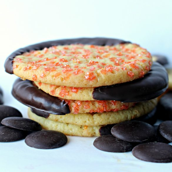 Chocolate Orange Cookies (Time Saver Recipe)