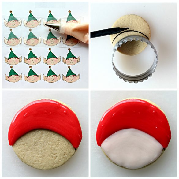 Elf on the Shelf Sugar Cookies