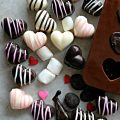 Chocolate Marshmallow Hearts