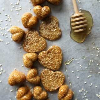 Honey Sesame Brittle