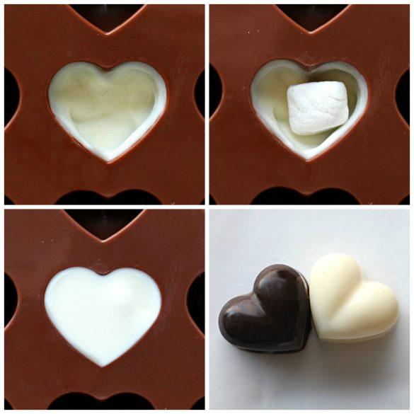 Chocolate Marshmallow Hearts