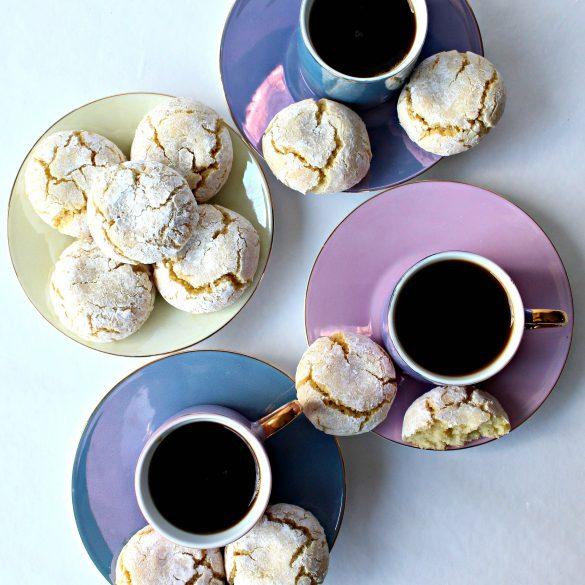 Flourless Soft Almond Cookies (Pasticcini di Mandorle)