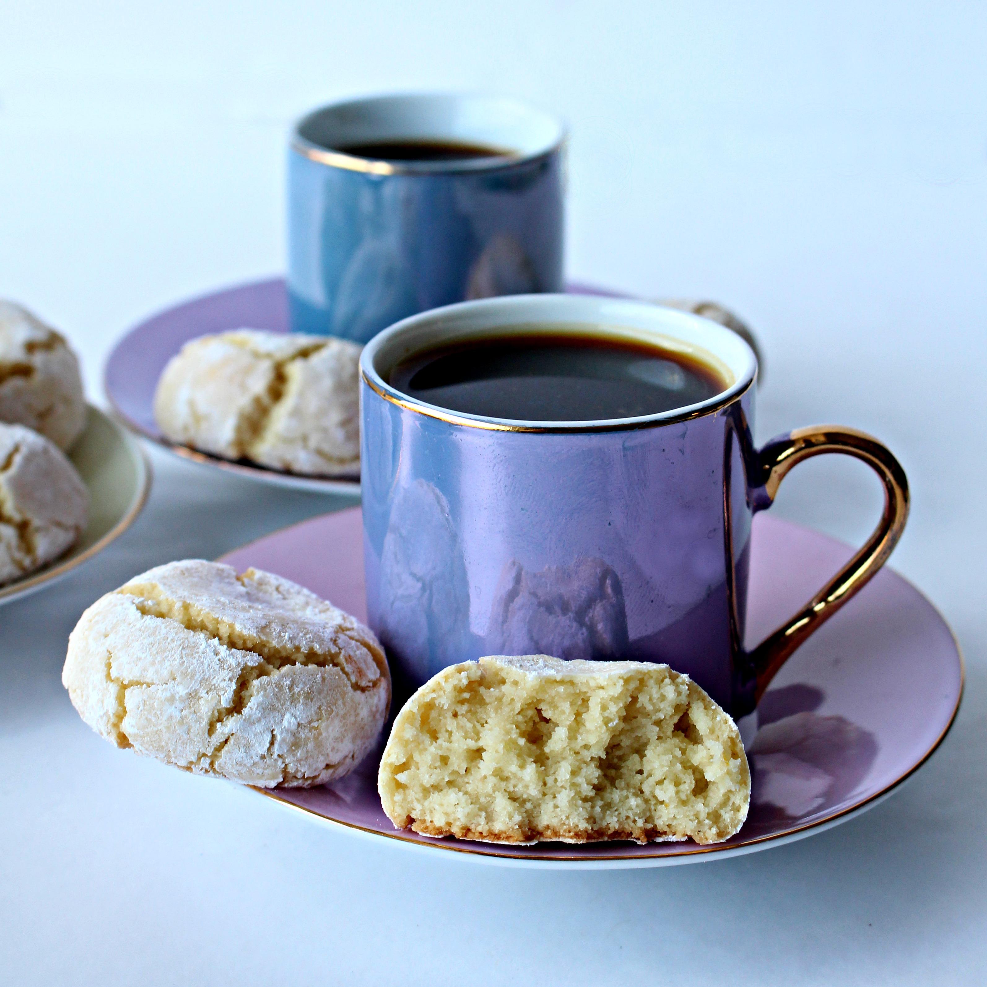 Flourless Soft Almond Cookies Pasticcini Di Mandorle The Monday Box