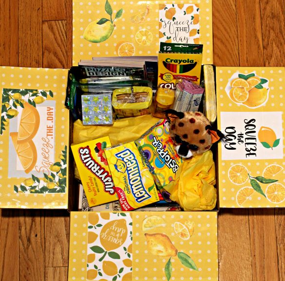 Squeeze the Day military care package