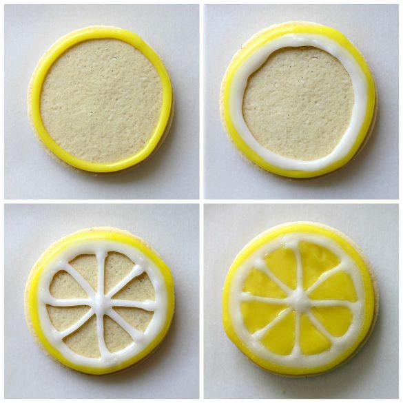 Lemon Sugar Cookie Lemon Slices
