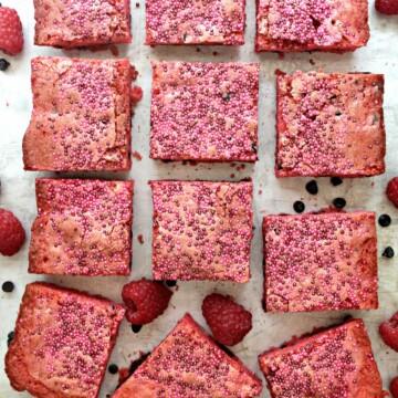 Raspberry Chocolate Chip Bars