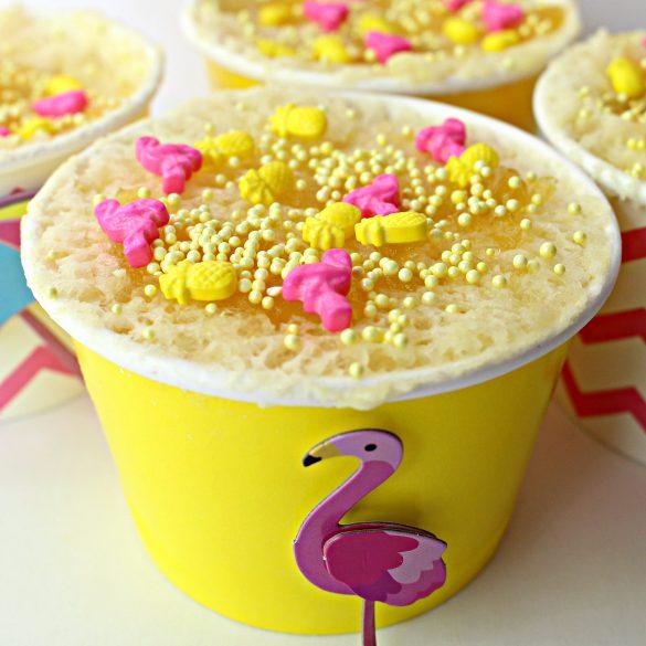 Pineapple Mug Cake