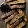 Honey Cake Biscotti