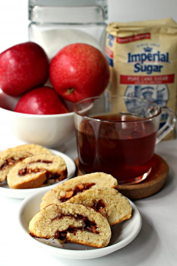 Apple Cherry Jam Cookies