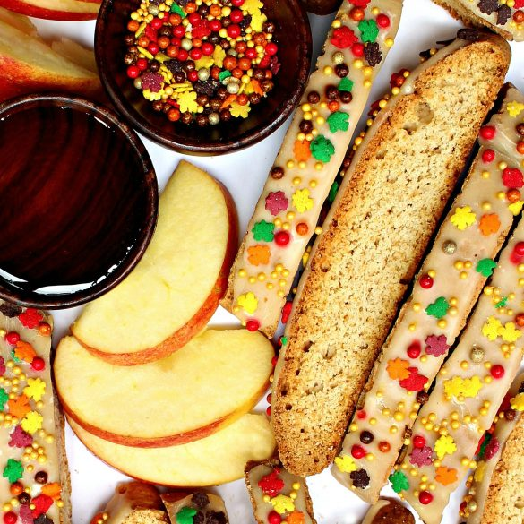 Apple Cinnamon Biscotti