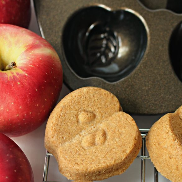 Apple Gingerbread Cakelets