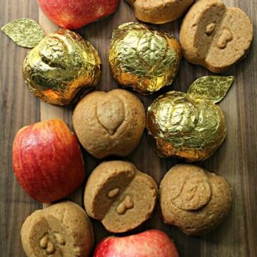 Apple Gingerbread Cakelets