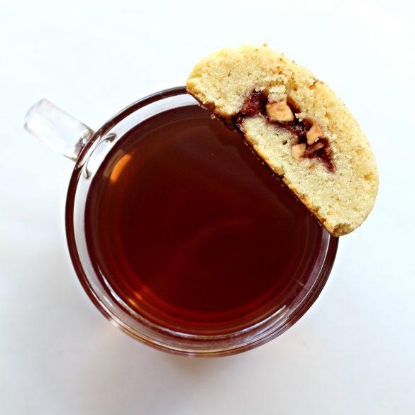 Apple Cherry Jam Cookies