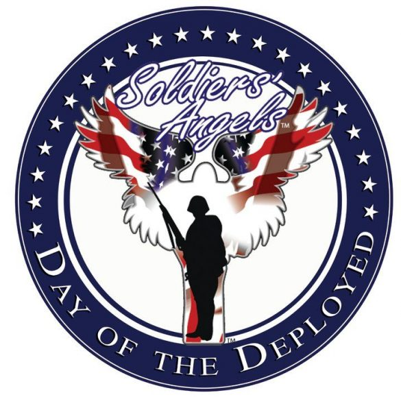Soldiers' Angels emblem for Day of the Deployed