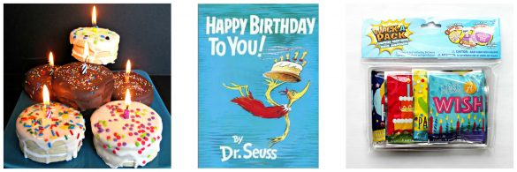 Happy Birthday to You book and gifts