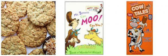 Mr. Brown Can Moo Can You? book and gifts