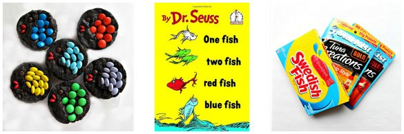 One Fish, Two Fish, Red Fish, Blue Fish book and gifts