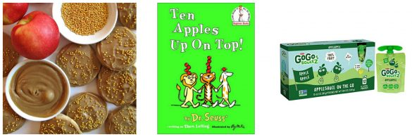 Ten Apples Up on Top! book and gifts