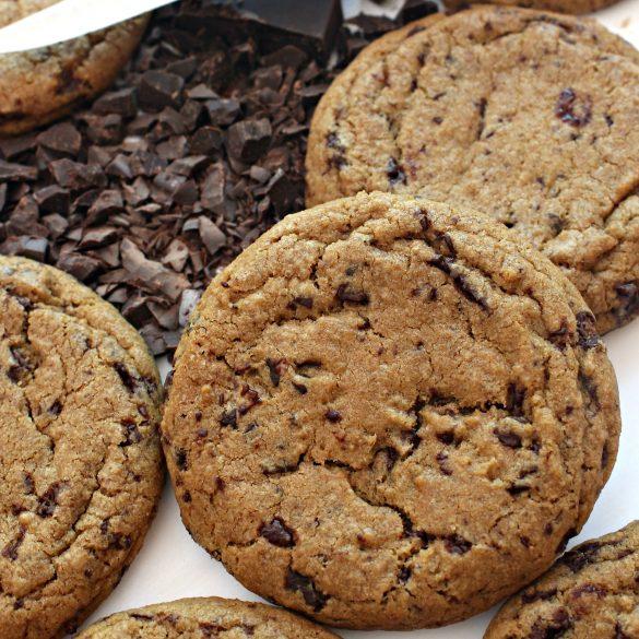 closeup of cookie