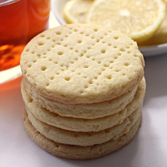 stack of Shrewsbury Biscuits