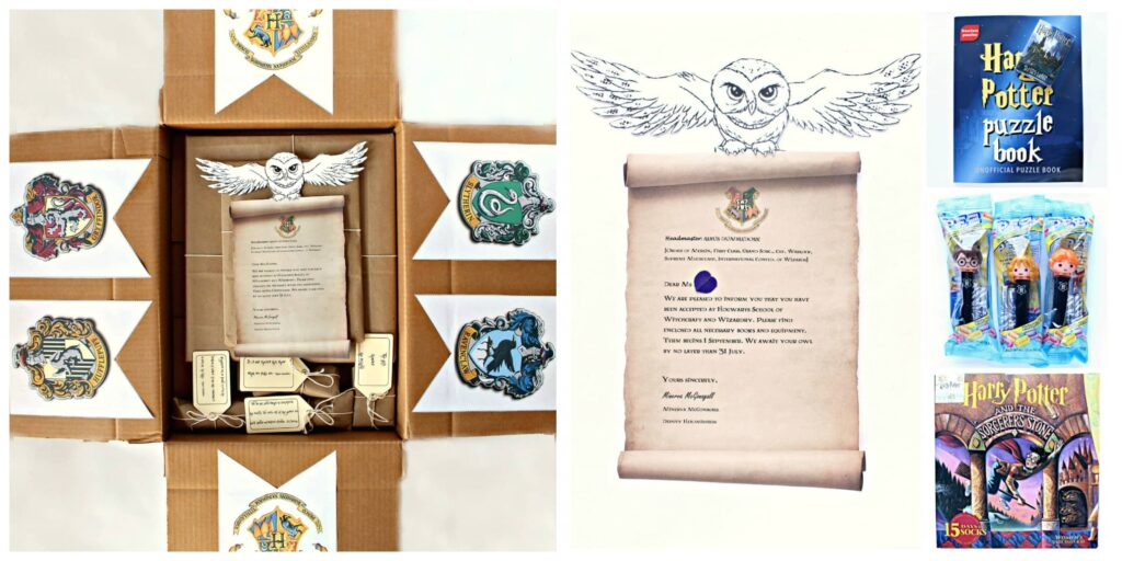 Hogwarts Care Package