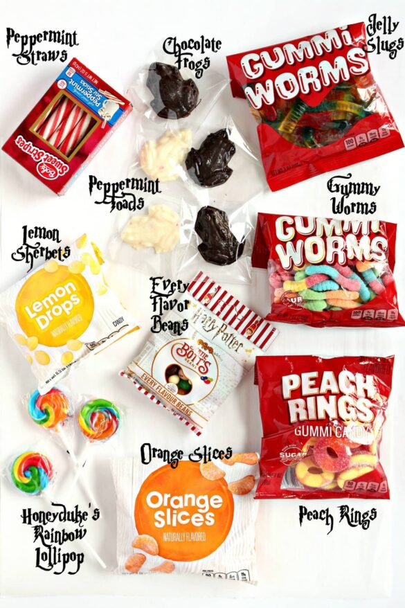 package candy contents