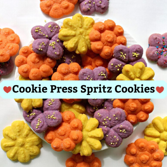 Cookie Press (Spritz) Cookies